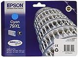 Epson Original T7902 Tintenpatrone Pisa XL, Singlepack cyan