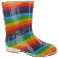 Cotswold PVC Kids Rainbow Welly/Girls Boots