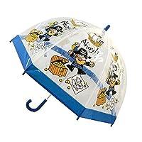 Bugzz Kids Children Clear PVC All Season Umbrella Brolly