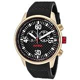 Red Line - RL-10102 - Montre Homme - Quartz Chronographe - Bracelet Caoutchouc Noir
