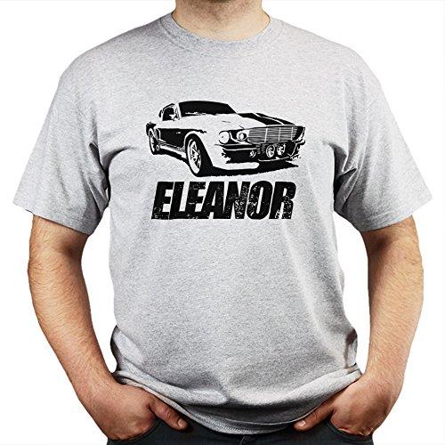 GT500 Eleanor Gone in 60 Seconds T-shirt Grau
