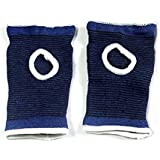 VORCOOL Pair Of Sports Palm Sleeve Support Band Brace Bandage Gloves (Blue)
