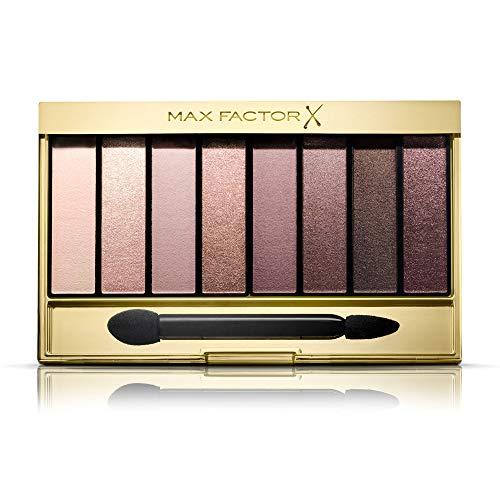 Max Factor Nude Eyeshadow Palette, 8 Ombretti Modulabili a Lunga Durata, 03 Rose