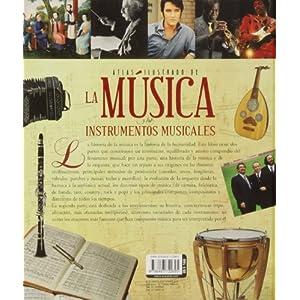 Atlas ilustrado de la música y los instrumentos musicales