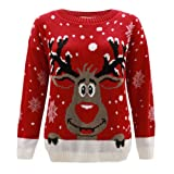 Jersey de Punto Navideño - Rudolph