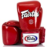 Fairtex Boxhandschuhe, BGV-1, rot, Boxing Gloves MMA Muay Thai Thaiboxen Size 16 Oz Test