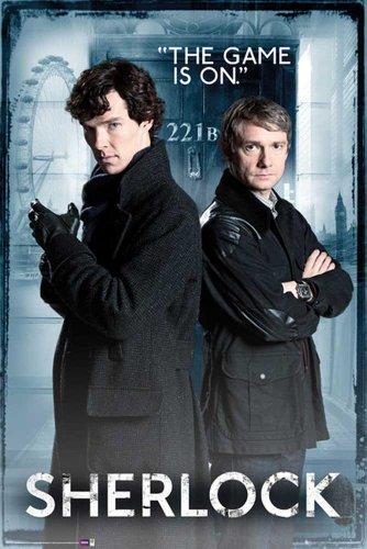 Sherlock Poster Door + accessori
