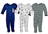 Vadmans Baby-Boys Sleepsuit (9 to 12 Months_Pack Of 3)
