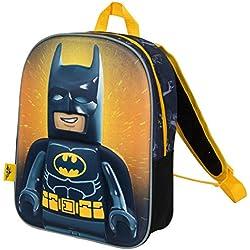 Mochilas Infantiles Niño Lego Movie Batman Cartera Escolar Niños con Imagen 3D