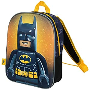 Zainetto Asilo Bambino Lego Movie 2 Batman Zaino Elementari Supereroe con Stampa 3D  LEGO