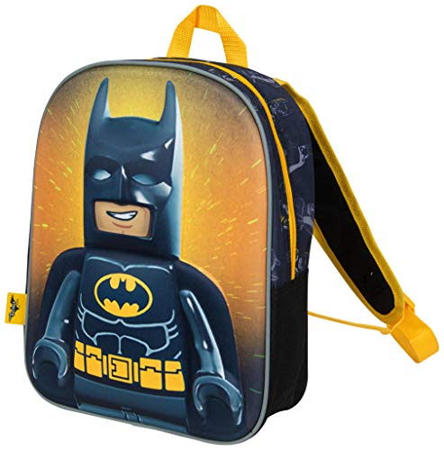 Mochilas Infantiles Niño Lego Movie Batman Cartera Escolar...