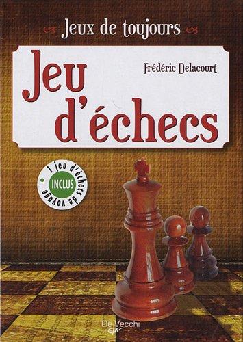Jeu d'échecs : 1 jeu d'échecs de voyage inclus