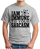 OM3™ - BIG Bang AM Immune TO Your Sarcasm T - Shirt