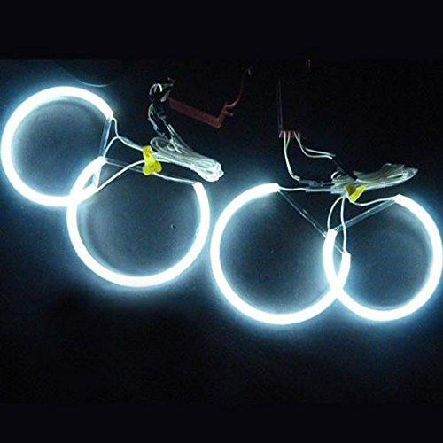 Rgb Eyes Angel (LemonBest® 7000K Super Bright White Angel Eye Halo-Ring-Licht-Lampe CCFL Für E46 E36 E39)