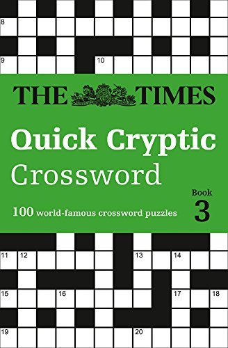 The Times Quick Cryptic Crossword book 3 (Times Mind Games)