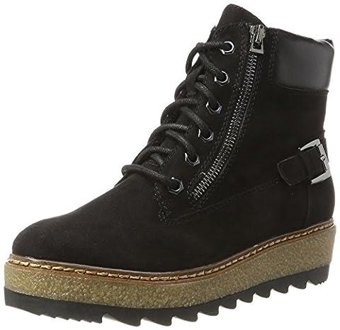 Tamaris Damen 25289 Combat Boots, Schwarz (Black), 39
