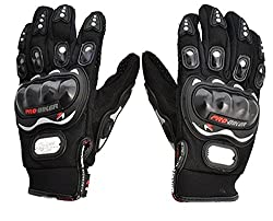 AutoStark Pro Biker Bike Riding Full Gloves (Size,Colour) Variation (XL, Black)