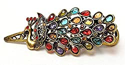 Cinderella Collection By Shining Diva Metal Hair clip For Girls ( Multi-Colour )
