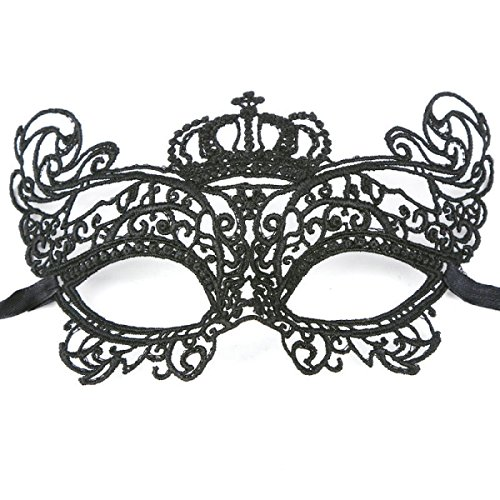 WANG Fliege Halloween Maske Hohl Spitze Schleier Maske Spaß Sexy Maske Europäischen Und Amerikanischen Bar Nachtclub Maske,14