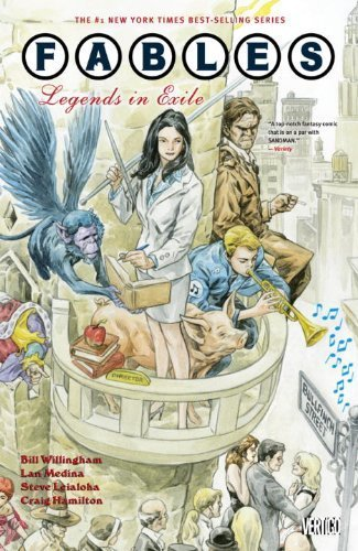 Fables TP Vol 01 Legends In Exile by Willingham. Bill ( 2010 ) Paperback