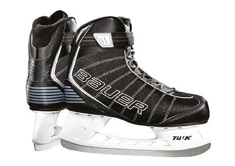 Bauer Junior Flow Rec Children's Ice Skates Black black Size:5 (EU)
