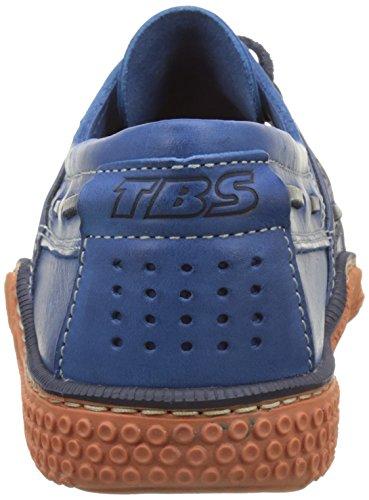 TBS Herren Globek D8 Bootschuhe Opale+Brique (Blau+Ziegelrot)