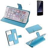 Flipcover Schutz Hülle für Meizu Pro 5 Mini, blau