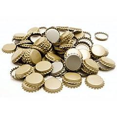 Idea Regalo - Tappo A Corona In Banda Stagnata. Confezione da 100 Pezzi, Idonei Per La Bollitura, Colori Assortiti