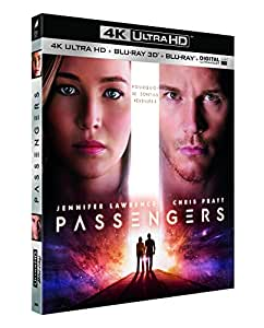 Passengers [Blu-ray 4K] [4K Ultra HD + Blu-ray 3D + Blu-ray + Digital UltraViolet]