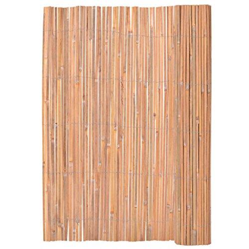 Tidyard Valla de Madera para Jardín Bar Patio Comercial y Residencial, Decoración Al Aire Libre,Bambú 200x400cm