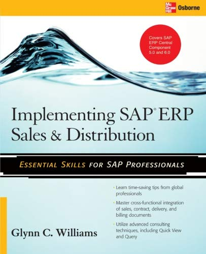 Implementing SAP ERP Sales & Distribution por Glynn C. Williams