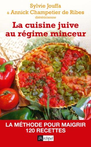 La cuisine juive au régime minceur (Guide) par Sylvie Jouffa