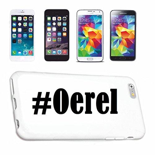 Reifen-Markt Handyhülle kompatibel mit Sony Xperia Z3 Hashtag #Oerel im Social Network Design Hardcase Schutzhülle Handy Cover Smart Cover