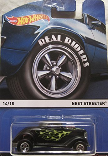 HOT WHEELS 2015 REAL RIDERS HERITAGE #14/18 NEET STREETER BLACK by neet streeter