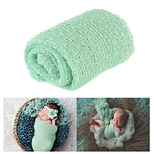 Tinksky Largo rizado abrigo, bebé DIY fotografía foto bebé abrigo apoyos...