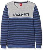 s.Oliver Jungen Pullover 63.711.61.8038, Blau (Blue Multicolored Stripes 55S1), 128