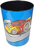 Läufer 26909 Papierkorb für Kinderzimmer mit Motiv Flinky Auto, 13 Liter