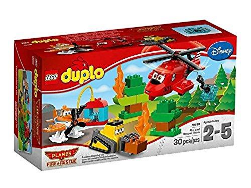 LEGO DUPLO - Planes - Los bomberos y los rescatadores, juego de construcción (10538)
