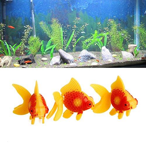 dairyshop 3Aquarium Tank Kunststoff Künstliche Schwimmen Fake Fisch Ornament Dekoration New (Fake-aquarium)