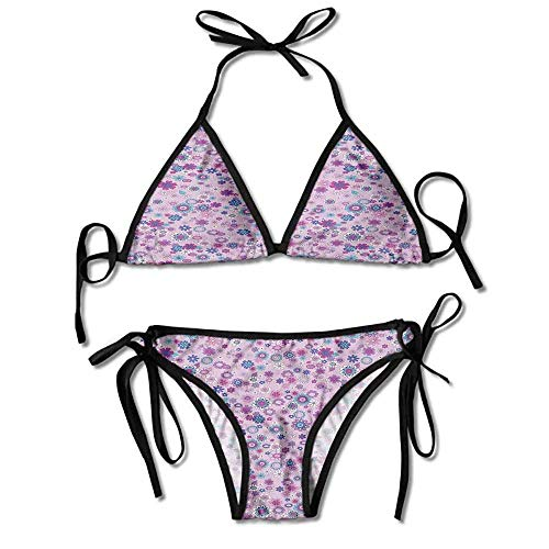 Hot Summer Women's Bikini,Petals Essence of Mother Sexy Bikini 2 Pieces -