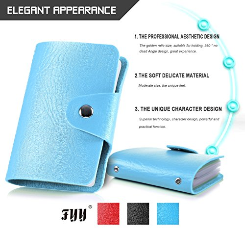 fyy-premium-pu-leather-card-holder-24-pieces-of-cards-executive-case-for-men-women-stylish-travel-wa
