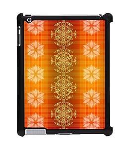 Fuson 2D Printed Colour Pattern Wallpaper Designer Back Case Cover for Apple iPad 3 - D868