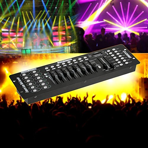 OOFAY LIGHT® Bühnenlicht DMX512 Console 192 Stage Lighting Controller LED PAR Light Beam Light Console