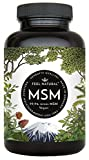 MSM Kapseln mit 1600mg MSM (Methylsulfonylmethan) je Tagesdosis - 365 Kapseln im 6-Monats-Vorrat. Einführungspreis. Laborgeprüft, ohne Zusatzstoffe wie Magnesiumstearat. Hergestellt in Deutschland und vegan