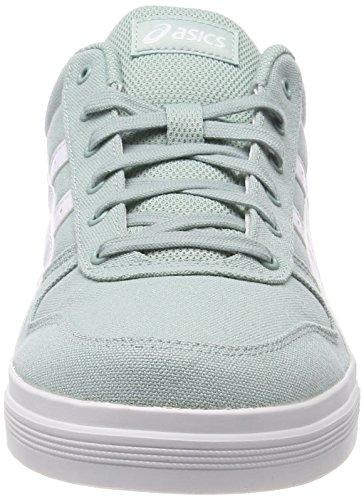 Asics Aaron, Zapatos De Baloncesto Azul Para Hombre (azul Surf / Blanco)