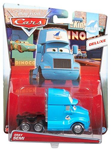 Mattel CDP54 - Protagonisti Cars Deluxe Gray Hauler