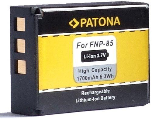 Bundlestar * Qualitätsakku für Fujifilm NP-85 (1700mAh neueste Generation) passend zu Fujifilm Finepix S1 SL1000 SL300 SL305 SL240 SL260 SL280 usw (100% kompatibel zum Original)