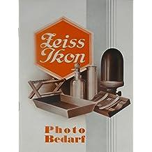 Katalog Zeiss Ikon Photo Bedarf