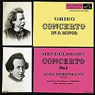 Grieg: Piano Concerto in A Minor, Op. 16 - Mendelssohn: Piano Concerto No. 1, Op. 25