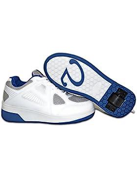 Elara Damen Herren Kinder Rollschuhe Sportschuhe Schuhe mit Rollen Laufschuhe Runners Sneakers